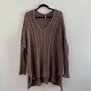 Free People Chunky Sweater